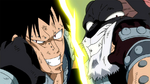 Gajeel and Panther Lily fighting.png