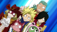 Sabertooth's reaction to Kagura