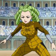 Araña Webb's attire