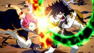 Natsu vs. Midnight