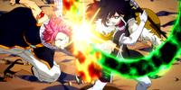 Natsu Dragneel vs. Midnight