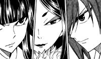 The Three Female Wizard Staredown