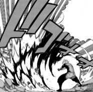 White Shadow Dragon's combined attack