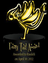 Fairy Tail Award 1