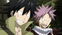 Natsu and Gray want the real reward