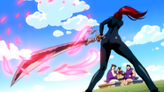 Erza Summons Benisakura