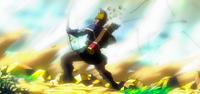 Archer hit by Roar