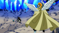 Gajeel finds Lily