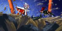 Erza Scarlet & Shô vs. Ikaruga