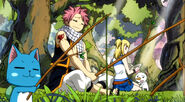 Natsu and Happy fishing
