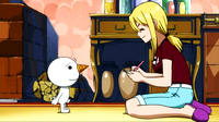 Lucy Makes a Contract with Nikora