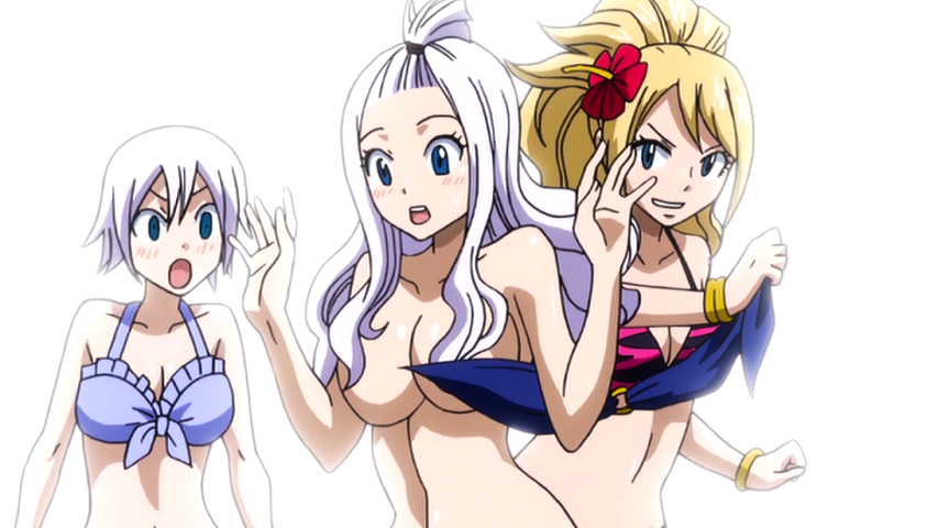 Image - Mirajane loses her top.png | Fairy Tail Wiki | FANDOM powered by Wikia