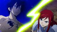 Erza questions Gray