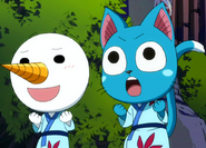 Happy and Plue
