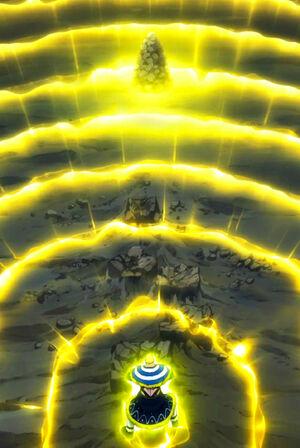 Jura using Earth Magic