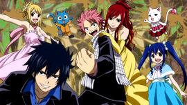 Team Natsu from OVA opening