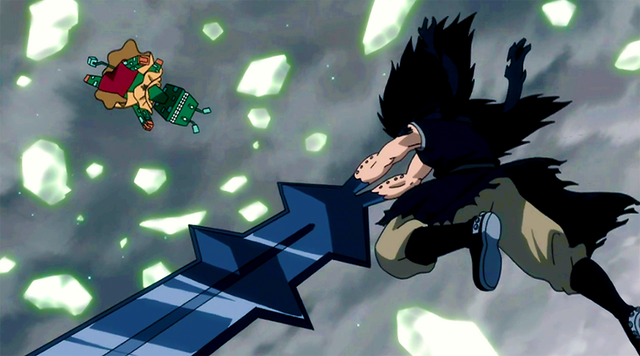 File:Gajeel beats Gutman.png