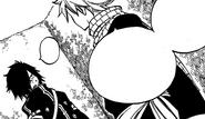 Rogue and Natsu converse