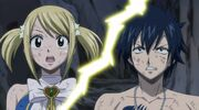 Lucy and Gray shocked