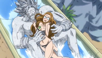 Evergreen with a Rock Elfman