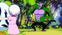 Natsu attacking