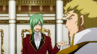 Freed Asking Laxus for a Dance
