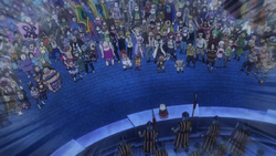 The Mages Gathered at Crocus Central Square