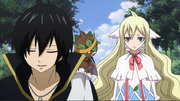Zeref and Mavis meet