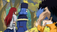 Levy Carrying Gajeel