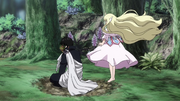 Mavis Floats Next to Zeref