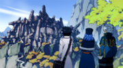 185px-Gray, Lyon and Juvia reached the ruins