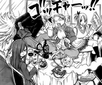 Natsu,-Lucy,-Gray,-Erza,-and-Happy-in-School