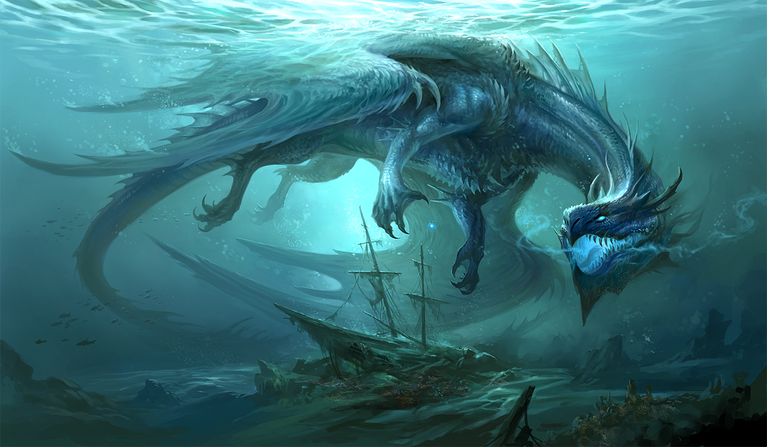 Water Dragon Slayer Magic QOS