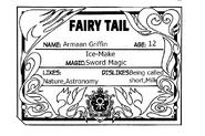 Armaan Guild Card English