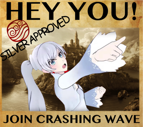 QOS - Crashing Wave - Wanted Poster