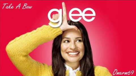 Glee Cast - Take A Bow (HQ)