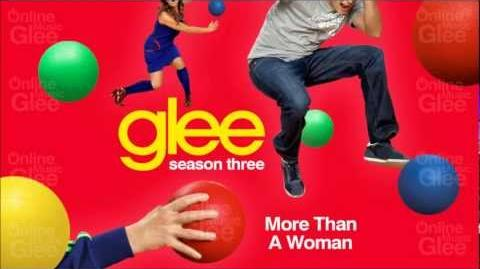 More Than A Woman - Glee HD Full Studio