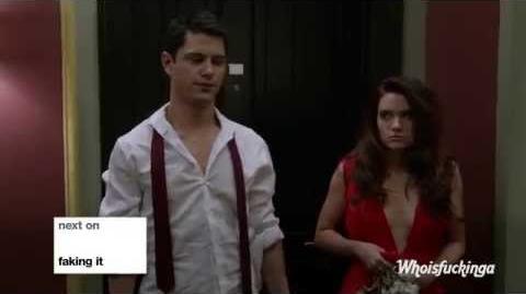 "Faking It 2x19 Season 2 Episode 19 Promo ""The deep end"""