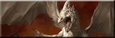 Drifa the white dragon