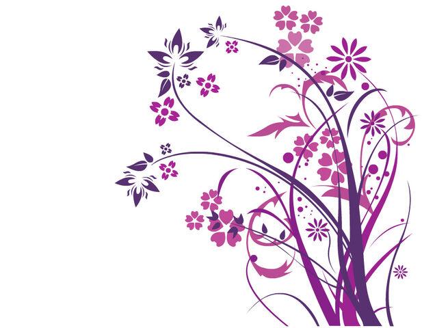 File:Purple flowers by inkdustrial.jpg