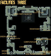 Secret Vault facilities three