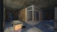 FO4 Police Precinct 8 cage