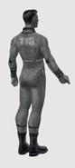 Art of Fo4 - Vault 113 jumpsuit
