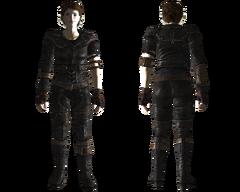 Lightweight leather armor female
