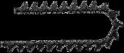 Chainsaw carbide teeth