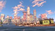 Fo4 Boston skyline
