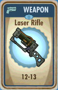 FoS Laser Rifle Card