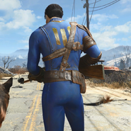Fo4 armored Vault 111 jumpsuit trailer