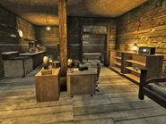 Victors shack interior