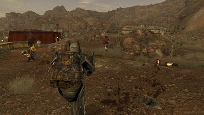 Fleeing legion soldiers
